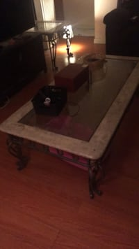Marble, Iron legs Coffee Table  Alameda, 94501