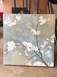 Canvas painting of blossoms Rockville, 20850