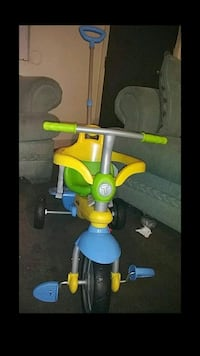 toddler's yellow and blue trike Tempe, 85281