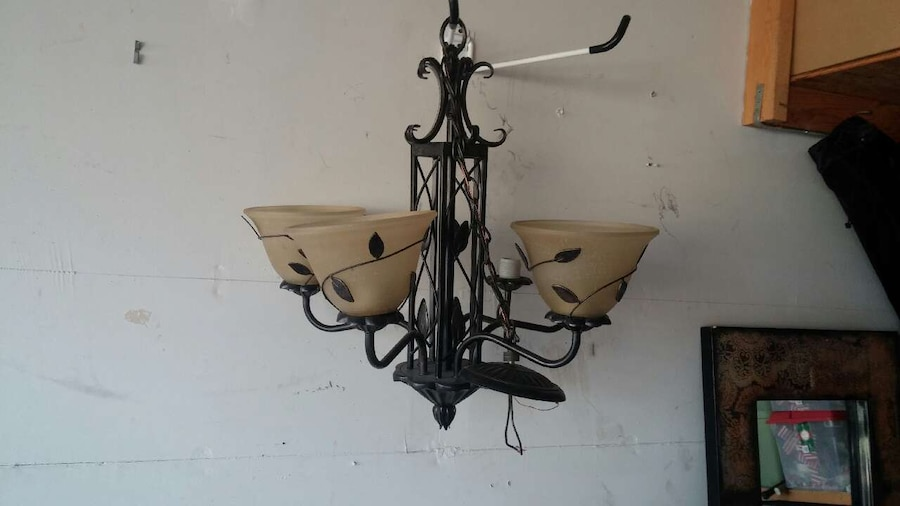 Letgo Light Fixture Good Cond In Eden Prairie MN