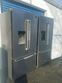 Stainless steel French-door refrigerator 51 km