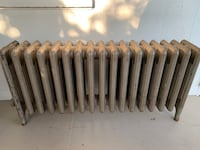 Cast Iron Steam Heat Radiator with Cover Lowell, 01851