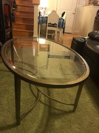 Coffee table- beveled glass