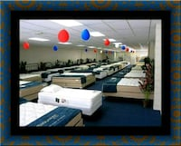 Full mattress plush with box spring Washington, 20018