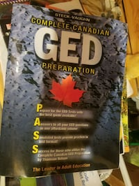 GED preparation book