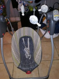 baby's black and gray swing chair Houston, 77093