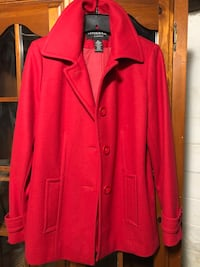Red Trench Coat  Baltimore