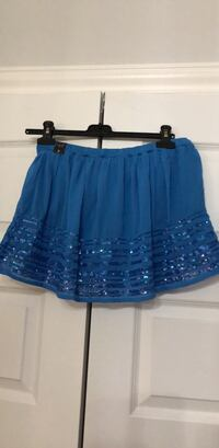 Hollister - NEW woman's small skirt blue & blue sequins Laval, H7X 3K4