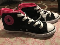 Pair of black converse all star sneakers Nashua, 03060