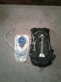 Ozark 2 liter Hydration pack used 2 times and has new water bladder
