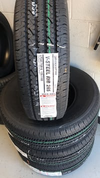 black auto tire set of 4 Manassas, 20109