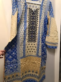Pakistani embroidery suit XL