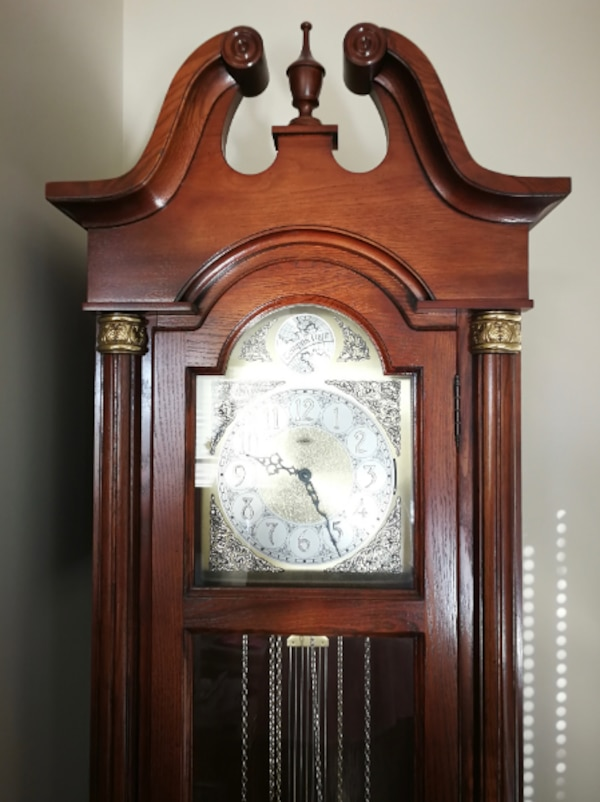Craftline Tempus Fugit Grandfather Clock dbbdaf63-97b0-4938-a6c2-3f5de732b4db