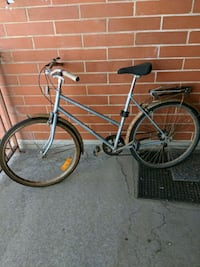 blue and black road bike Edmonton, T5K 2N4