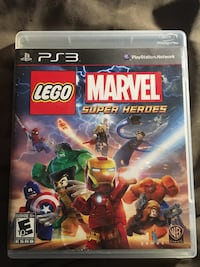 Lego marvel superheroes PS3 Washington, 20017
