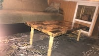 rectangular brown wooden coffee table Dearborn, 48126
