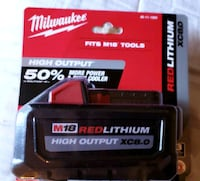 Milwaukee M18 HO XC 8.0 ah battery Murfreesboro