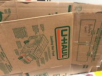 8 moving boxes from Uhaul only used once  Toronto, M6S