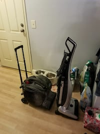 Vacuum and air mover