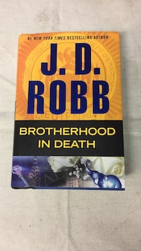 JD Robb hardback book