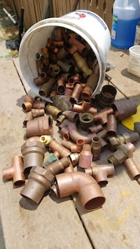 new copper fittings
