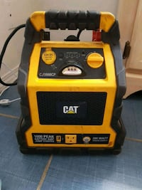 CAT battery amp jump starter