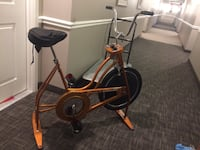 Used Vintage Copper Exercise Bicycle Lisle