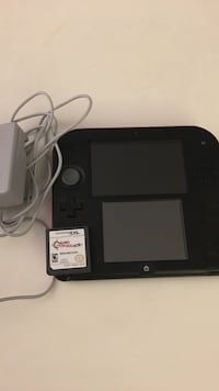 Black nintendo ds with charger and game Burlingame, 94010