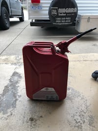 Off road steel gas can, 20 liters