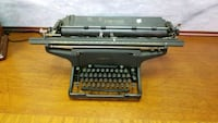 black and gray typewriter in case Mississauga, L4X 1R1