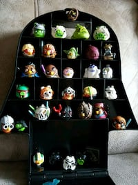 36 ANGRY BIRDS STAR WARS COLLECTION FIGURES + BOX Montreal