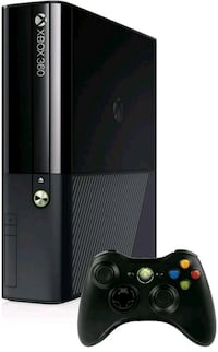 black Xbox 360 console with controller Joint Base Lewis-McChord, 98433