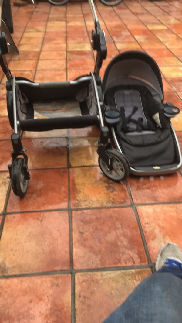 6dc5ae5775b Used baby s black and gray travel system for sale in Covina - letgo