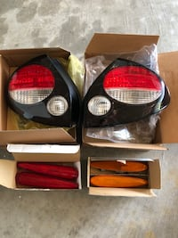 2000-04 Nissan Maxima SE DEPO Tail lamps and side markers  Bayville