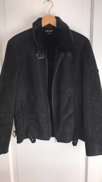 Leather suede jacket size M