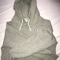 rare double hooded grey champion sweatshirt Yorba Linda, 92886