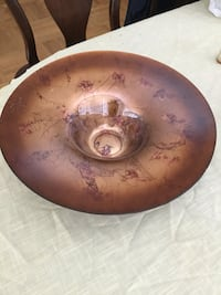 Large glass bowl,moving sale