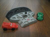 PLAY DOH CARS MOLD 'N GO SPEEDWAY PLAY SET COMPLETE NO PLAYDOH DISNEY
