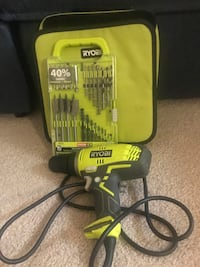 Corded drill with drill bit set and bag Rockville, 20852