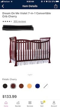 2 Dream on me baby crib with mattess New Lenox, 60451