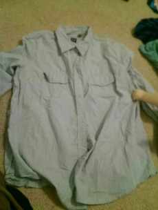 XL long sleeve button down