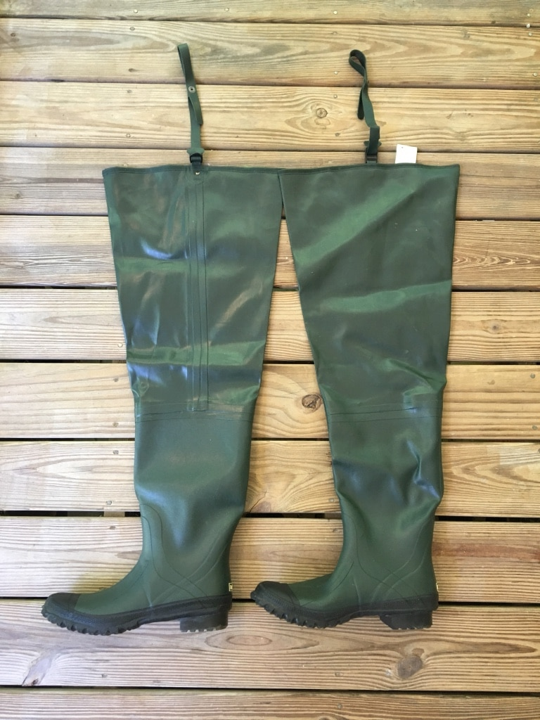 Rubber Hip Waders Men's Size 12