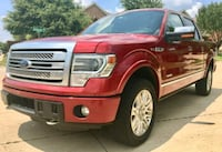 2014 FORD F150 PLATINUM 4X4 3.5L TOW PACKAGE Dallas, 75217