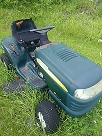 black and green ride on mower Lehigh Acres, 33974