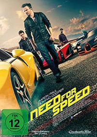 Need for speed DVD film. Sindelfingen