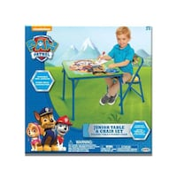 $20 Paw Patrol Table and One Padded Chair (Never Opened)