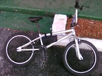 white and black BMX bike Clearwater, 33755