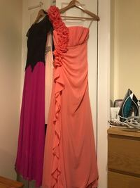 Peach colour long dress London, SW14 8DT