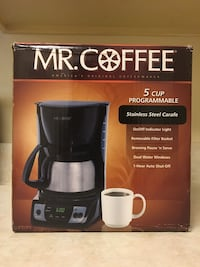 Mr. Coffee 5-Cup Programmable Stainless Steel Alexandria, 22314