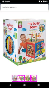 My busy town activity cube Brampton, L6V 4K2